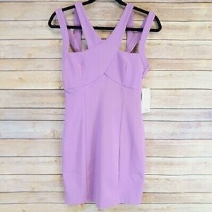 NWT TOBI XS Lilac Bodycon Dress
